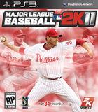 Portada oficial de Major League Baseball 2K11 para PS3