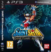 Portada oficial de Saint Seiya: Batalla por el Santuario para PS3