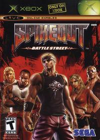 Portada oficial de Spikeout Battle Street para Xbox