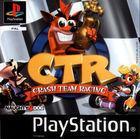 Portada oficial de Crash Team Racing para PS One