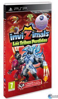 Portada oficial de Invizimals: Las Tribus Perdidas para PSP