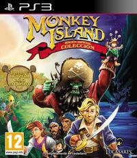 Portada oficial de Monkey Island Special Edition Collection para PS3