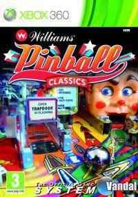 Portada oficial de Williams Pinball Classics para Xbox 360