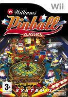 Portada oficial de Williams Pinball Classics para Wii