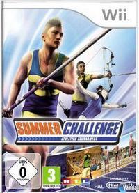 Portada oficial de Summer Challenge – Athletics Tournament para Wii