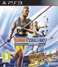 Portada oficial de Summer Challenge – Athletics Tournament para PS3