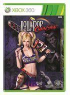 Portada oficial de Lollipop Chainsaw para Xbox 360