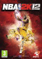 Portada oficial de NBA 2K12 para PSP