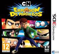 Portada oficial de Cartoon Network Explosión de Puñetazos para Nintendo 3DS