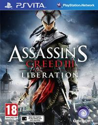 Portada oficial de Assassin's Creed III: Liberation para PSVITA