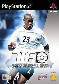 Portada oficial de Esto es Fútbol 2003 para PS2