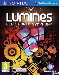 Portada oficial de Lumines Electronic Symphony para PSVITA