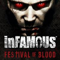 Portada oficial de InFamous Festival Of Blood PSN para PS3