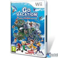Portada oficial de Go Vacation para Wii