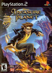 Portada oficial de El Planeta del Tesoro para PS2