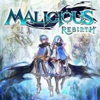 Portada oficial de Malicious Rebirth PSN para PSVITA