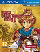 Portada oficial de New Little King's Story para PSVITA