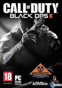 Portada oficial de Call of Duty: Black Ops II para PC