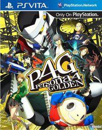 Portada oficial de Persona 4 Golden para PSVITA