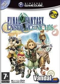 Portada oficial de Final Fantasy: Crystal Chronicles para GameCube