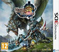 Portada oficial de Monster Hunter 3 Ultimate para Nintendo 3DS