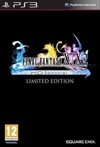 Portada oficial de Final Fantasy X/X-2 HD Remaster para PS3