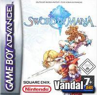 Portada oficial de Sword of Mana para Game Boy Advance