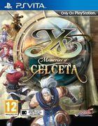 Portada oficial de Ys: Memories of Celceta para PSVITA