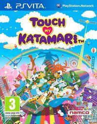 Portada oficial de Touch My Katamari para PSVITA