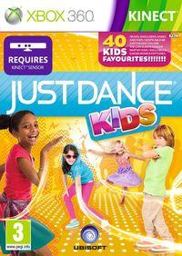 Portada oficial de Just Dance Kids para Xbox 360