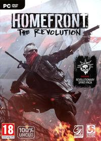 Portada oficial de Homefront: The Revolution para PC
