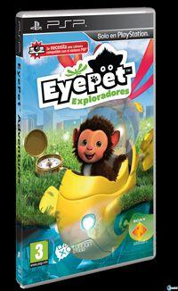 Portada oficial de EyePet exploradores  para PSP