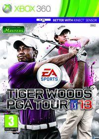Portada oficial de Tiger Woods PGA Tour 13 para Xbox 360