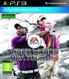 Portada oficial de Tiger Woods PGA Tour 13 para PS3