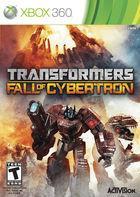 Portada oficial de Transformers: Fall Of Cybertron para Xbox 360