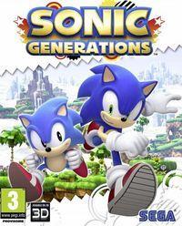 Portada oficial de Sonic Generations para PC