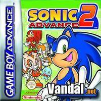 Portada oficial de Sonic Advance 2 para Game Boy Advance