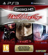 Portada oficial de Devil May Cry HD Collection para PS3