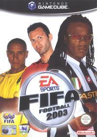 Portada oficial de FIFA 2003 para GameCube