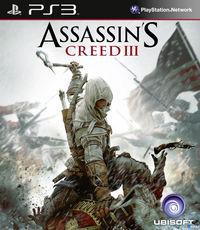 Portada oficial de Assassin's Creed III para PS3