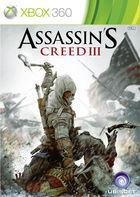 Portada oficial de Assassin's Creed III para Xbox 360