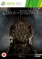 Portada oficial de Game of Thrones para Xbox 360