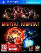 Portada oficial de Mortal Kombat para PSVITA
