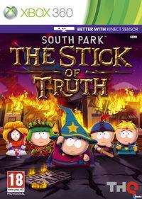 Portada oficial de South Park: La Vara de la Verdad para Xbox 360