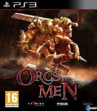 Portada oficial de Of Orcs and Men para PS3