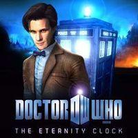 Portada oficial de Doctor Who: The Eternity Clock PSN para PS3