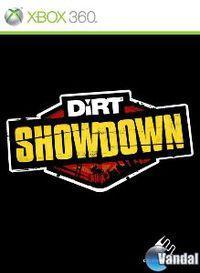 Portada oficial de DiRT Showdown para Xbox 360