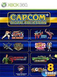 Portada oficial de Capcom Digital Collection para Xbox 360