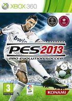 Portada oficial de Pro Evolution Soccer 2013 para Xbox 360
