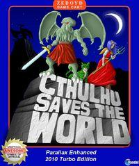 Portada oficial de Cthulhu Saves the World para iPhone